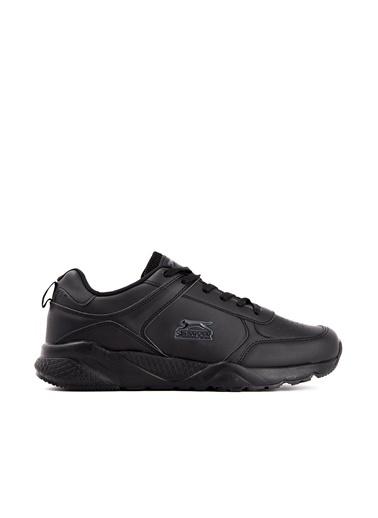 Slazenger Slazenger IKARUS Koşu & Yürüyüş Erkek Ayakkabı    Siyah